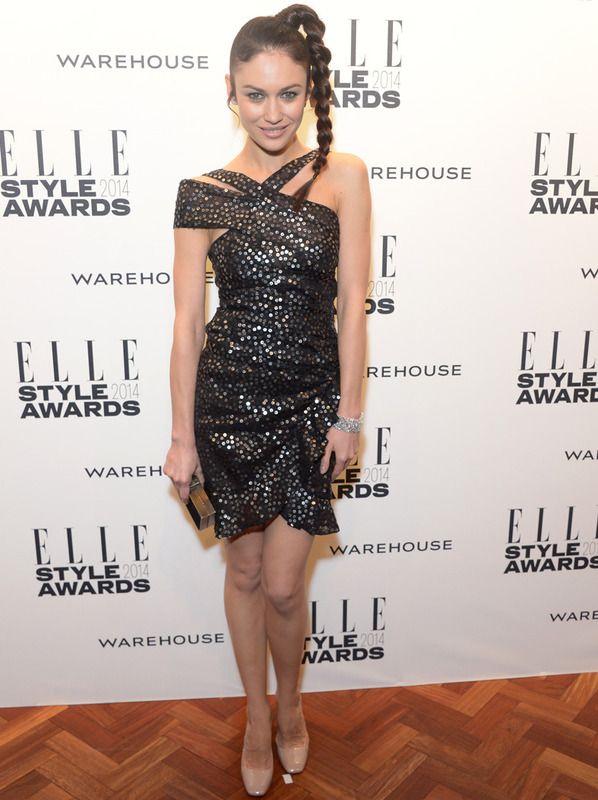 Olga Kurylenko - Elle Style Awards 2014 Isabel Marant Spring 2014