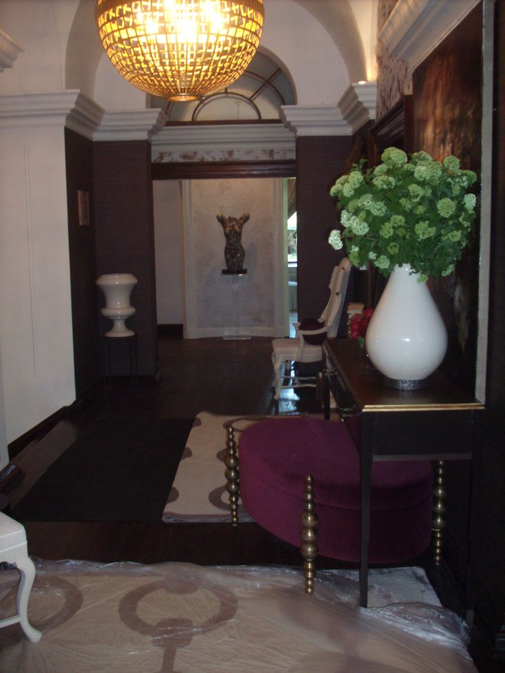 Upper Hallway Designer Michel Boyd