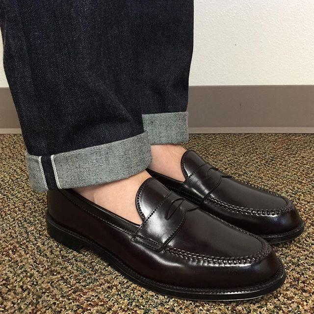 6c23ab9b42e mdubsonsf Leisure Sunday. Alden Color 8 Shell Cordovan LHS. RRL ...