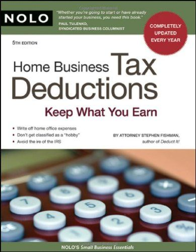 HOME BUSINESS TAX DEDUCTIONS: Keep What You Earn http://ipasdiscount.com/cp2/?id=69256&tid=pinterest