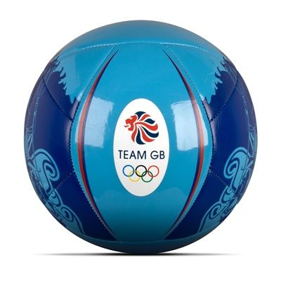 adidas Team GB Football - Cyan /White/Red /Collegiate Royal