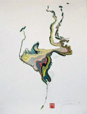 Papeles Decorados: Técnicas tradicionales y creación artística contemporánea. : Suminagashi contemporáneo y Suimonga / Contemporary Suminagashi and Suimonga
