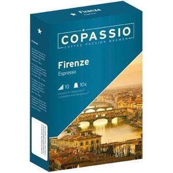 Buy The Nespresso ® compatible capsule: Copassio Firenze (Espresso, Intensity 10) online at Lazada. Discount prices and promotional sale on all. Free Shipping.
