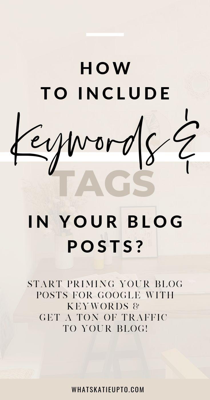 Wie und warum sollten Keywords in Ihre Blog-Posts aufgenommen werden? Ich würde gerne reden über…