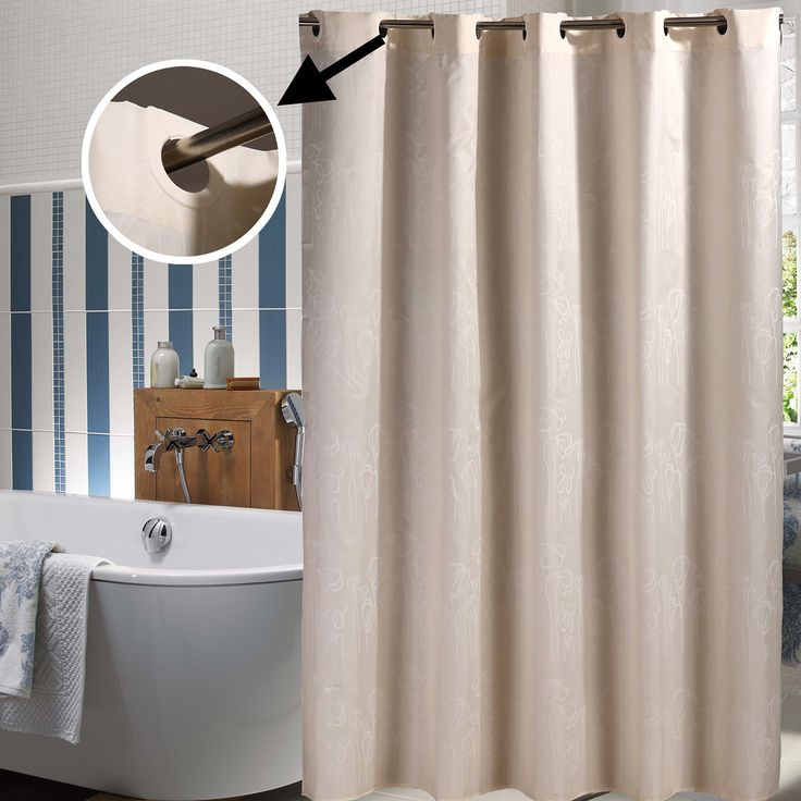25 Best Ideas About Hookless Shower Curtain On Pinterest