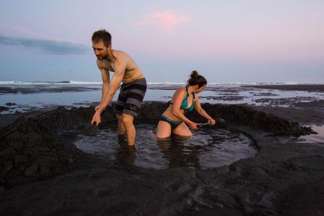Kawhia Hot Water Beach