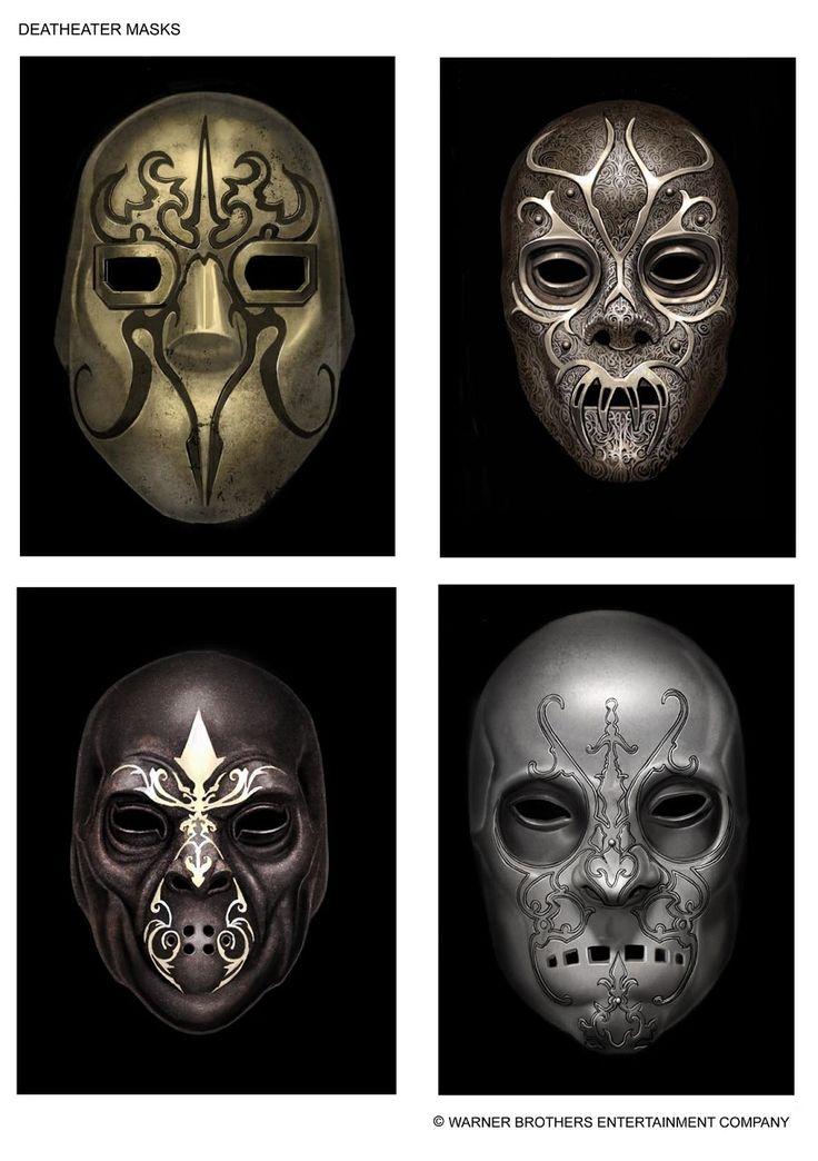 Death Eater Masks - Harry Potter