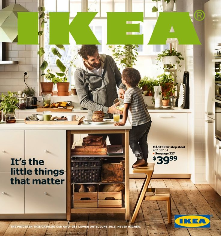 The IKEA Catalog 2016 is here! And viewable online. I will be posting my first thoughts in a few days. In the meantime, happy browsing.