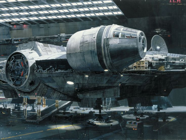 You've heard of the Millenium Falcon? It's the ship that made the kessel run.. She'll do .5 past light speed..