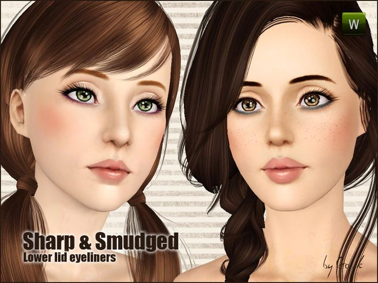 Gosik's Sharp & Smudged lower lid eyeliners