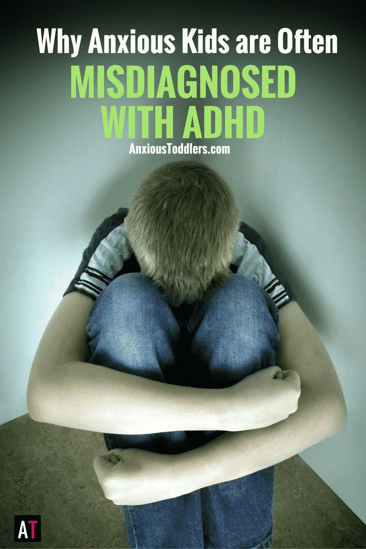 Sometimes anxious kids don't look anxious. Sometimes they look hyper and unfocused. Unfortunately it is common for these kids to be misdiagnosed with ADHD. Here is the link between ADHD and Anxiety.