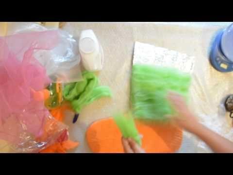 Как я делала сапожки для дома часть 1 - YouTube