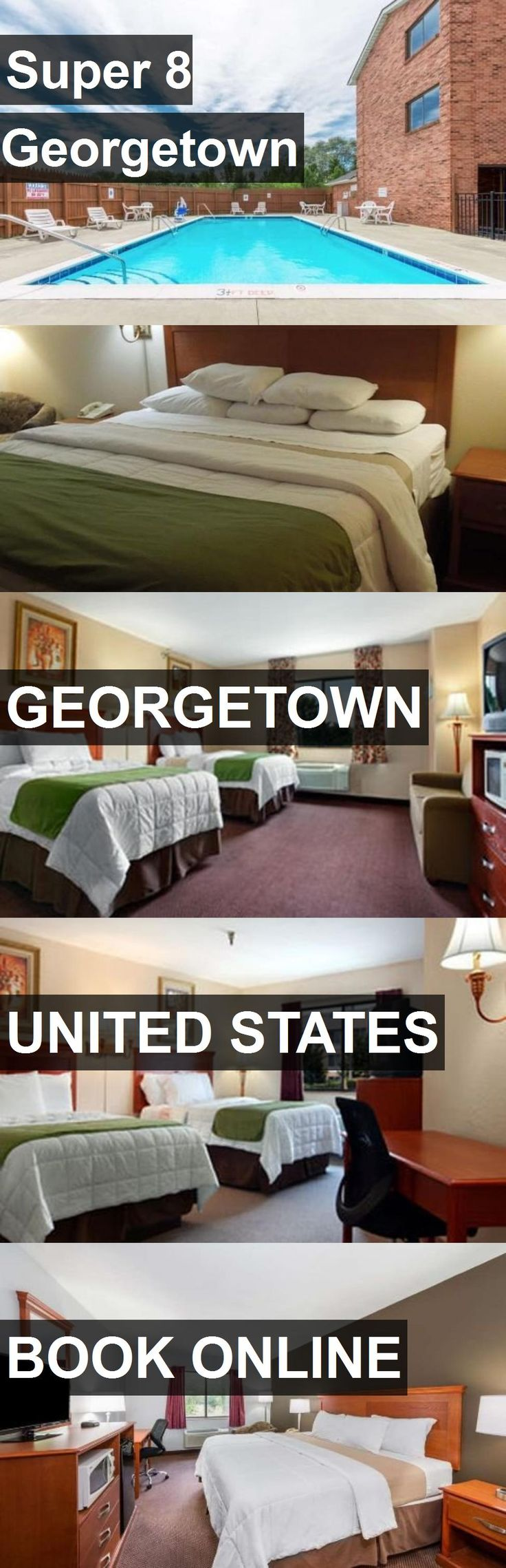 Hotel Super 8 Georgetown in Georgetown, United States. For more information, photos, reviews and best prices please follow the link. #UnitedStates #Georgetown #travel #vacation #hotel