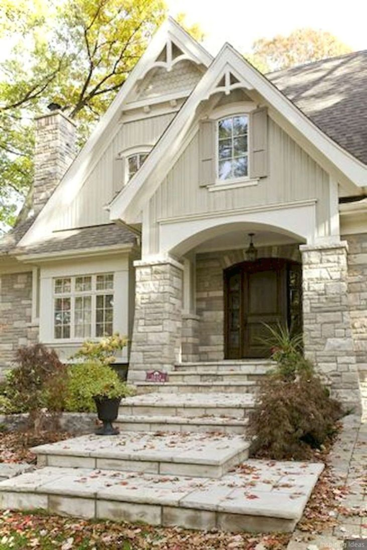 20+ Charming Small Cottage House Exterior Ideas
