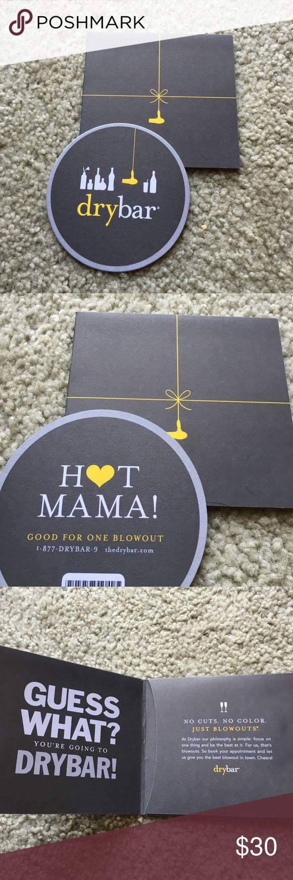 Hot Mama drybar blowout gift certificate Free blowout gift certificate! Just never going to use Other
