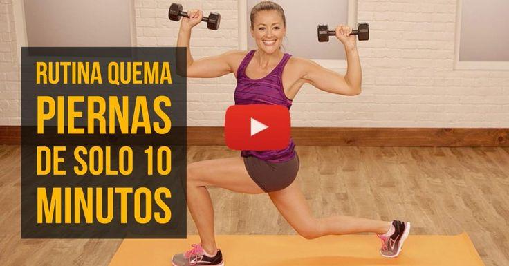 Quema tus piernas y calorías en solo 10 minutos.