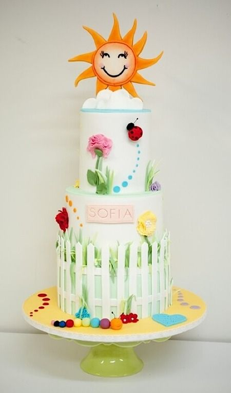 Some super cute Sunday sweets this week! Cake Wrecks - Home - Sunday Sweets For Roy G. Biv