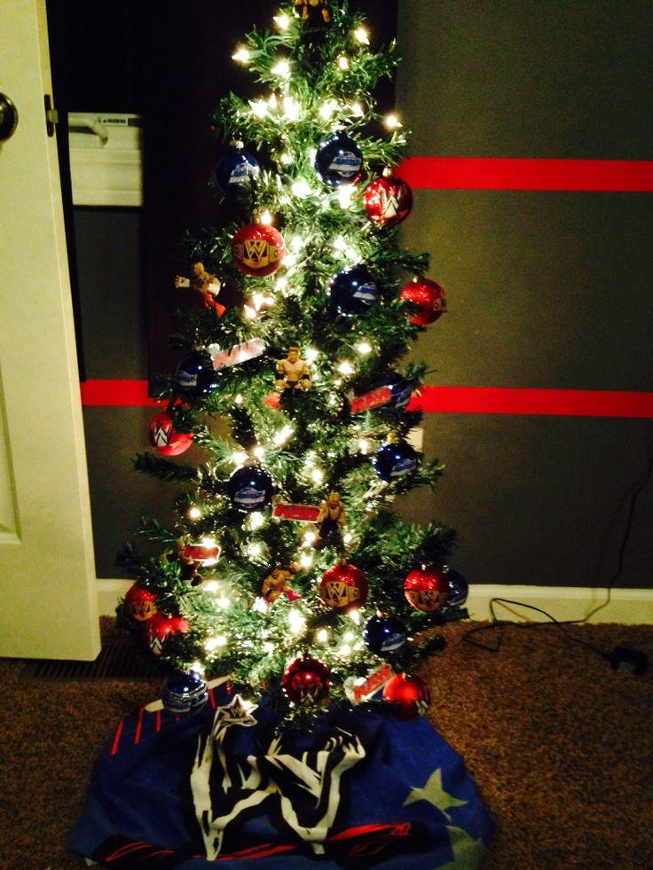 boy themed christmas tree