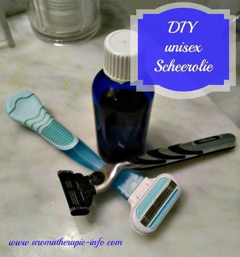Maak je eigen natuurlijke scheerolie, zeer geschikt voor een gevoelige huid en bij huidirritatie door scheren. Voor mannen en vrouwen!