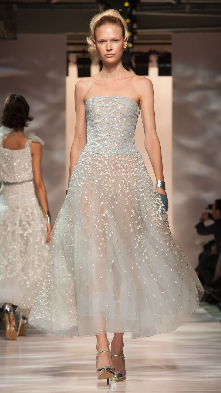 Georges Chakra Haute Couture Spring/Summer 2015 via @stylelist
