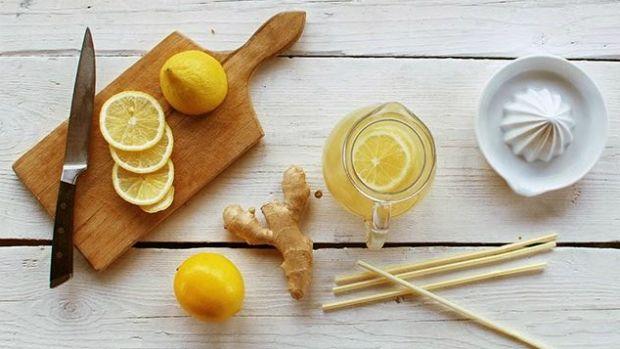 Zázvorová limonáda s medem Foto: