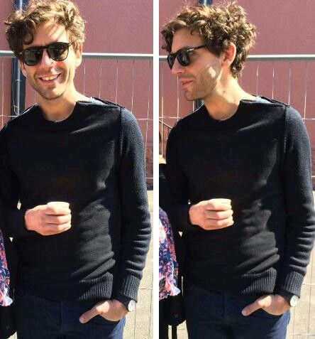 Mika before The voice final 2015 ❤