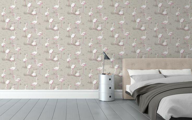 Cole & Son Flamingo Wallpaper