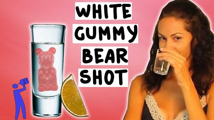 How to make the White Gummy Bear Shot - Tipsy Bartender