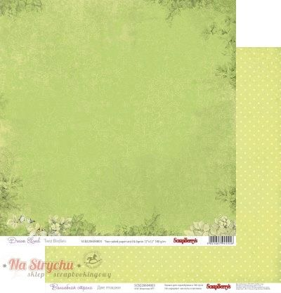 Papier 30x30 - Dream Land Two Birdies - Scrapberry's SCB220604803 Na-Strychu