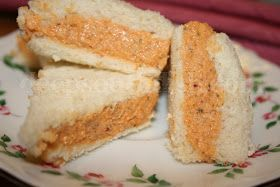 Deep South Dish: Pecan and Pimento Cheese Finger Sandwiches