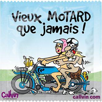 La boutique pr servatif vieux motard que jamais - Image drole de motard ...