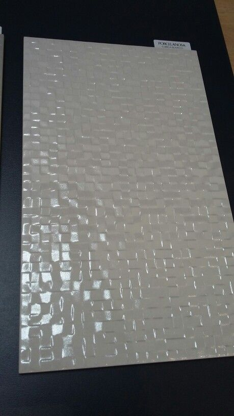 Bathroom tiles - Porcelanosa cubica blanco