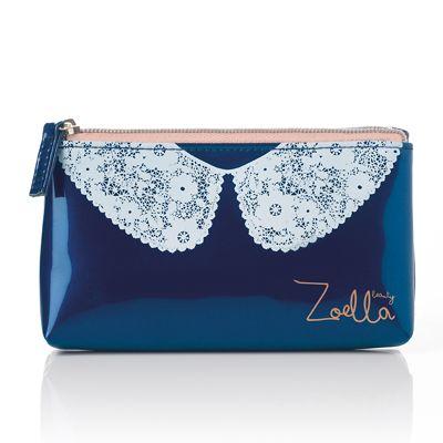 Zoella Beauty Lace Collar Purse so easy to put little handbag essentials in :)