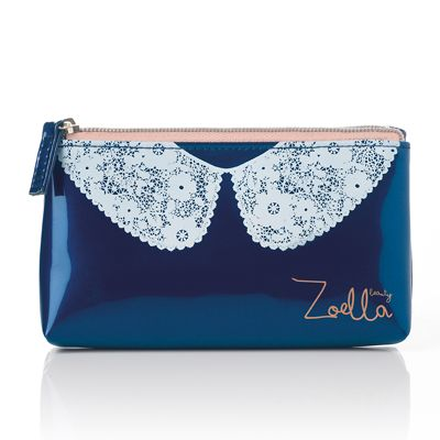 Zoella Beauty Lace Collar Purse so easy to put little handbag essentials in :)