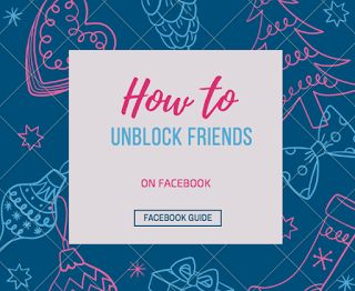 How to Unblock Someone - View My Facebook friends block list  | Unblocked People List On FB Profile Account