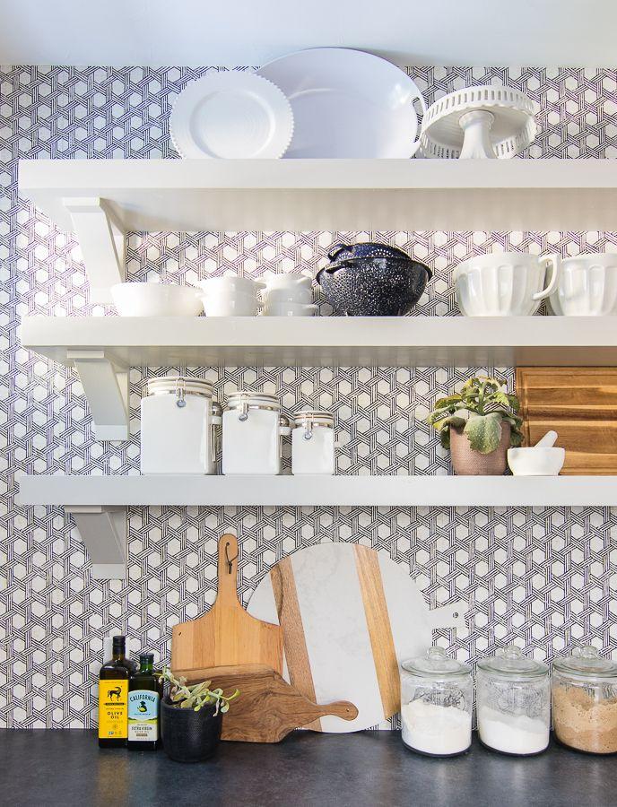 Butler S Pantry Wallpaper Pantry Wallpaper Kitchen Pantry Wallpaper Pantry Design
