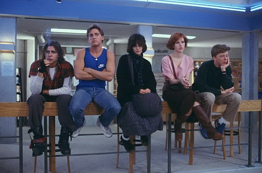 Social Uniforms from the past... The Breakfast Club tbt 80s Clothes fashion