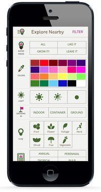 Find plants that will work for you. With the GrowIt! App you can filter by color, plant type, light, and much more, and all the results are from the local community! The app is #FREE check it out today.