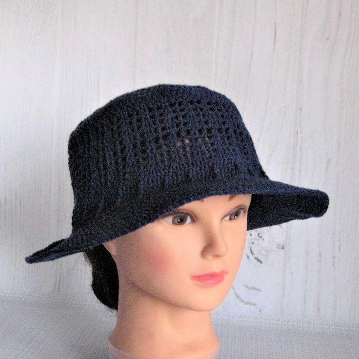 Summer Beanie Hat Crochet Pattern : 25+ best ideas about Crochet Summer Hats on Pinterest ...