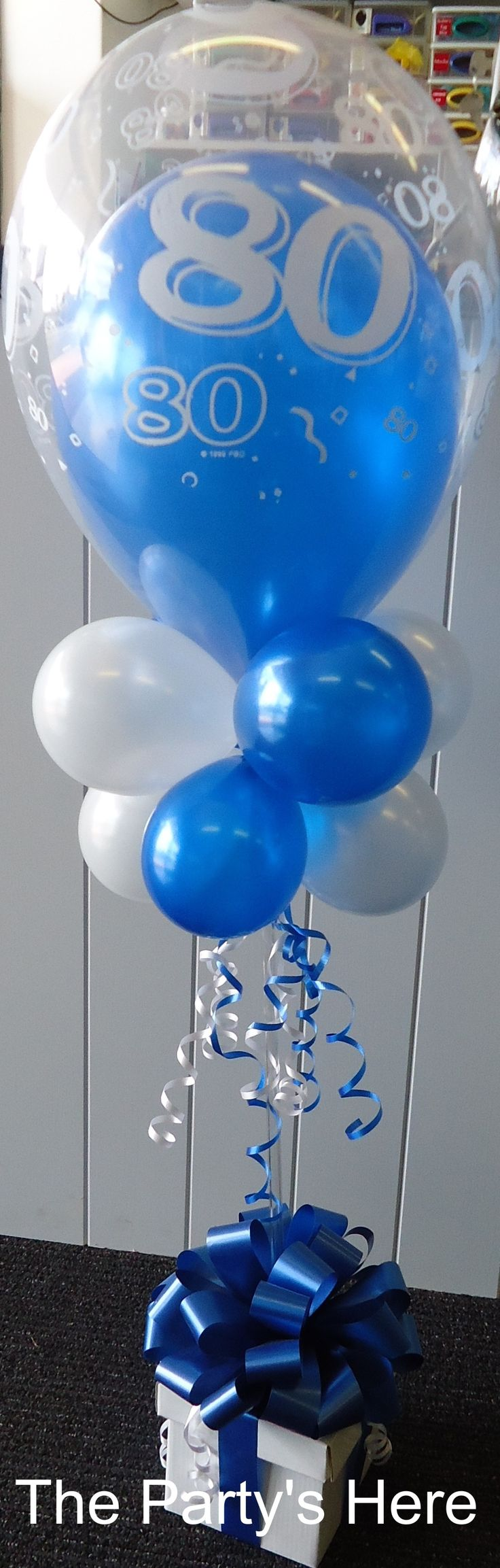 118 best birthdays images on pinterest birthdays for Air filled balloon decoration ideas