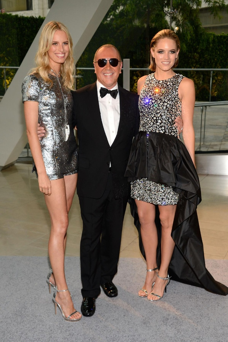 CFDA Awards - Karolina Kurkova, Michael Kors, and Cody Horn IN .... michael kors (of course)