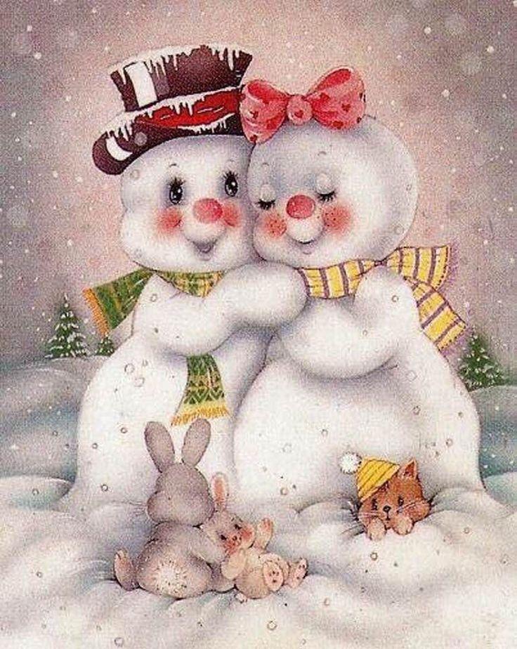 Snowman ❄️ Snow Woman