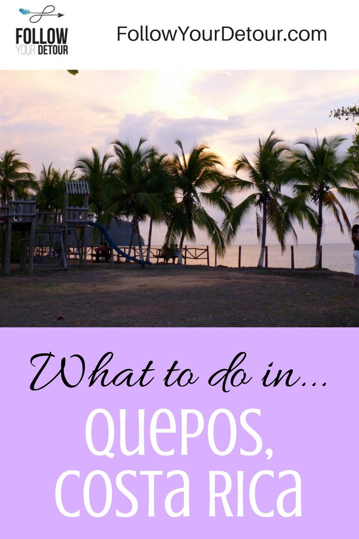 Top things to do in Quepos, Costa Rica!
