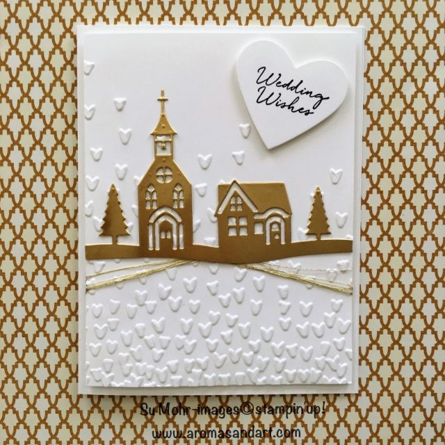 Stampin' Up! wedding card - Homnetown Greetings