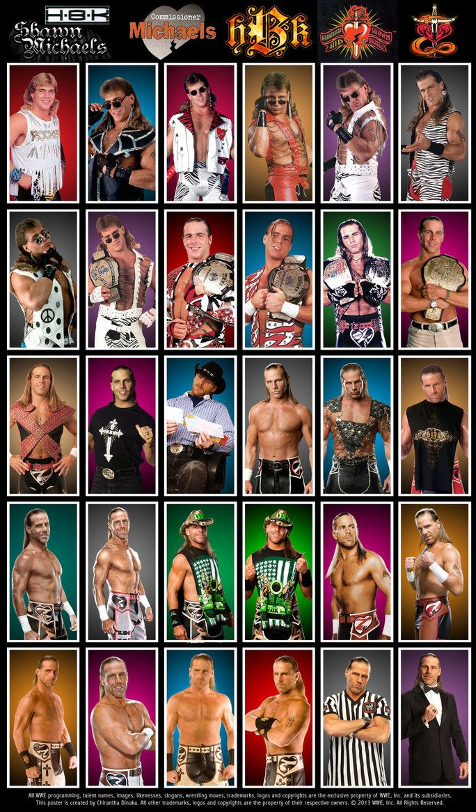 Shawn Michaels Poster by Chirantha on DeviantArt