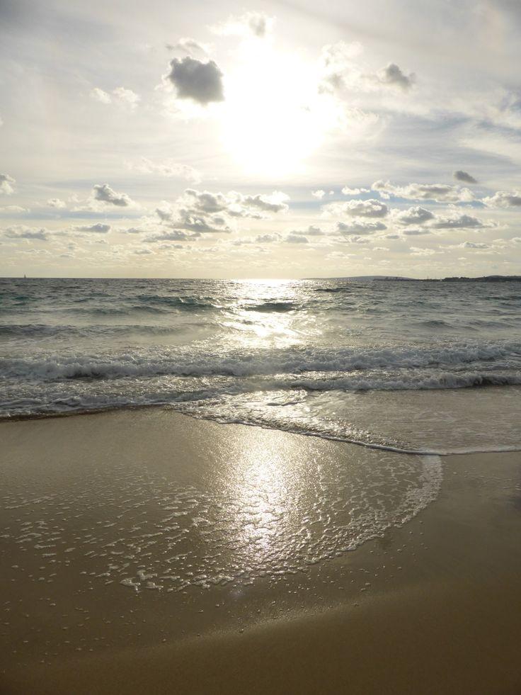 Palma Beach, Mallorca, Spain by molieresphotography/Val Moliere