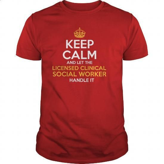 Awesome Tee For Licensed Clinical Social Worker - #designer shirts #hoodie jacket. ORDER HERE => https://www.sunfrog.com/LifeStyle/Awesome-Tee-For-Licensed-Clinical-Social-Worker-129094743-Red-Guys.html?60505