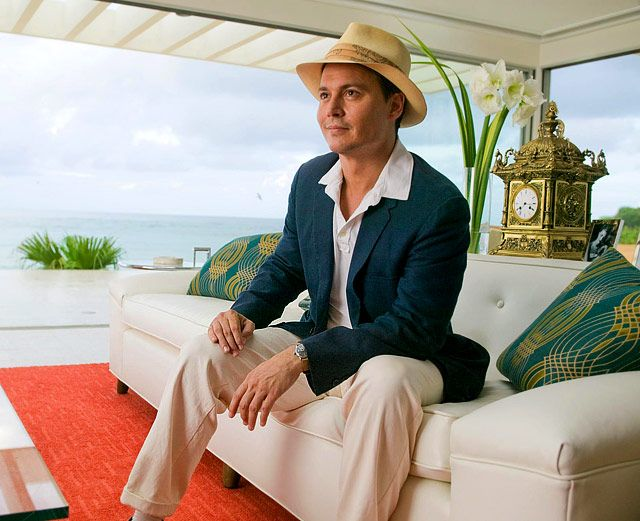 Johnny Depp's Movie Makeovers: The Rum Diary