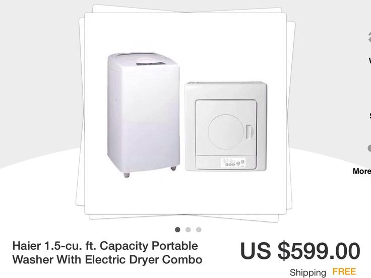 haier stackable washer and dryer. small portable washer and dryer set www.ebay.com. $599.00 haier stackable t