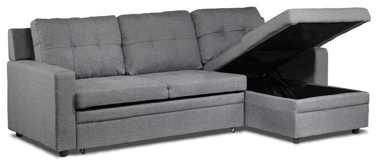 Bombay Iii Upholstery Sleeper Sofa W Chaise Leon S For
